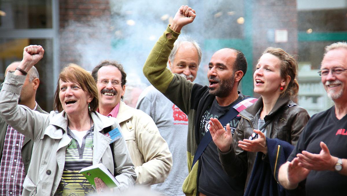 Kundgebung Bundestagswahl 2013