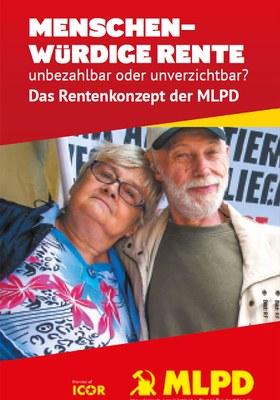 Menschenwürdige Rente unbezahlbar oder unverzichtbar?