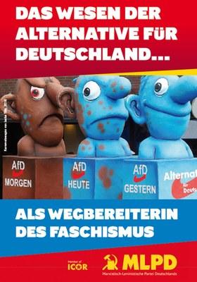 Das Wesen der Alternative für Deutschland als Wegbereiterin des Faschismus