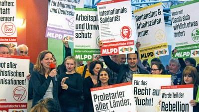 Kandidaten der Bundesliste Internationalistische Liste/MLPD
