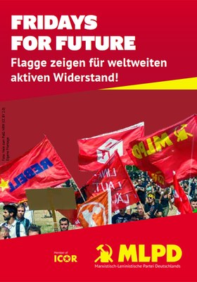 Flagge zeigen für weltweiten aktiven Widerstand!