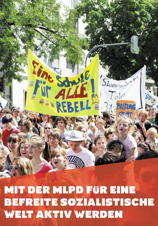 Mit der MLPD für eine befreite sozialistische Welt aktiv werden
