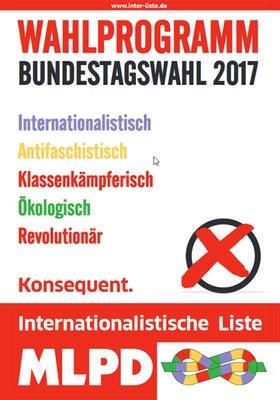 Wahlprogramm zur Bundestagswahl 2017