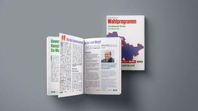 Wahlprogramm Landtagswahl Thüringen