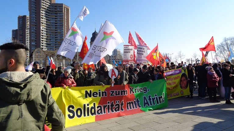 """MLPD call for participation in the worldwide day of action """"Efrîn will live"""" on 21 March 2018 (Newroz)"""
