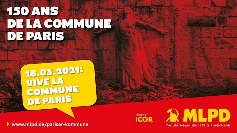 150 ans  de la commune de Paris