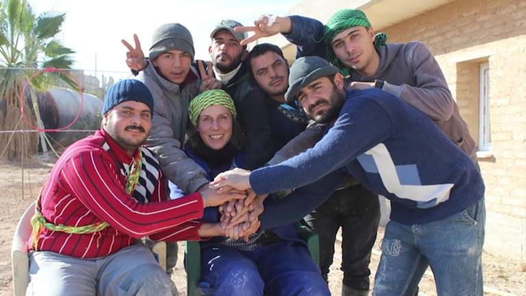 ¡Assegurar la victoria! Las brigadas internationales de la ICOR en Kobane