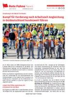 Metall-Tarifrunde: Kampf für Forderung nach Arbeitszeit-Angleichung in Ostdeutschland