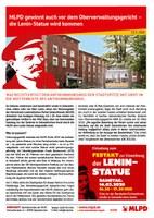 MLPD gewinnt auch vor dem Oberverwaltungsgericht – die Lenin-Statue wird kommen