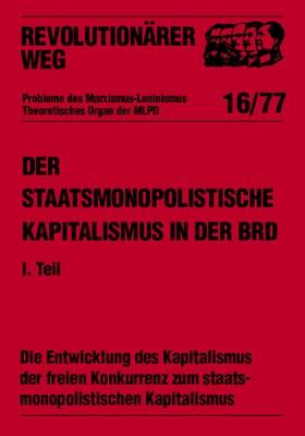 Der staatsmonopolistische Kapitalismus in der BRD