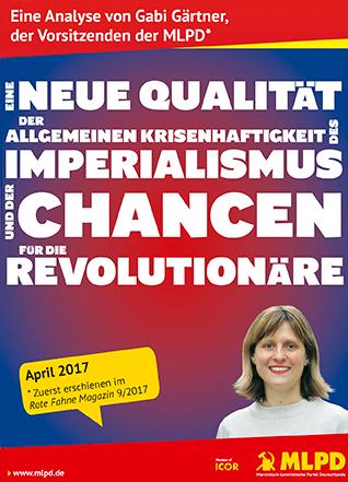 Eine neue Qualität der Allgemeinen Krisenhaftigkeit des Imperialismus und der Chancen für die Revolutinäre