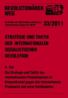 Morgenröte der internationalen sozialistischen Revolution - RW 33