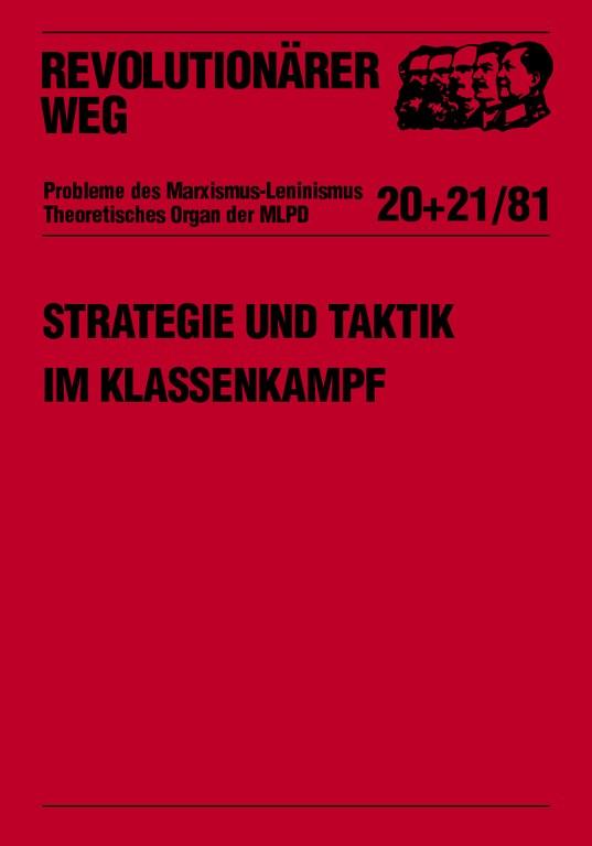 Strategie und Taktik im Klassenkampf - Teil II
