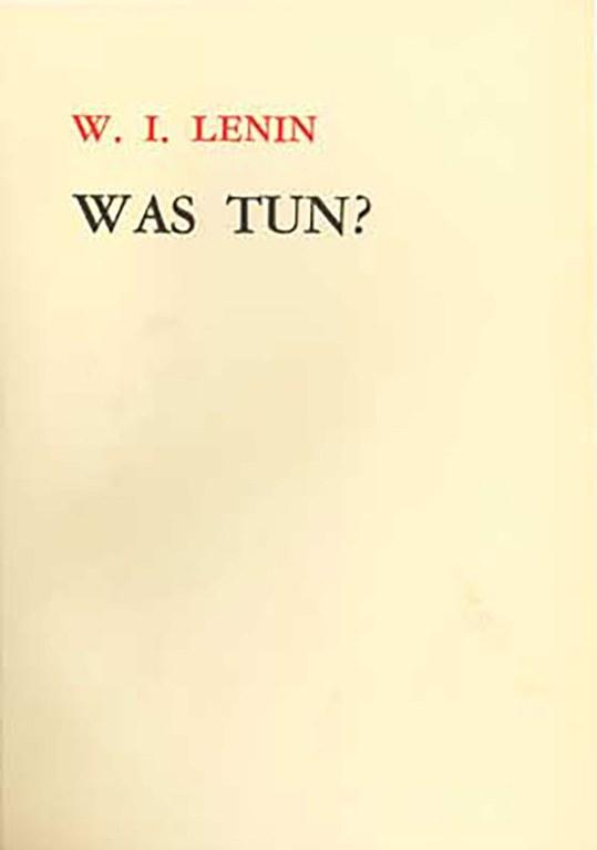 Lenin: Was tun?