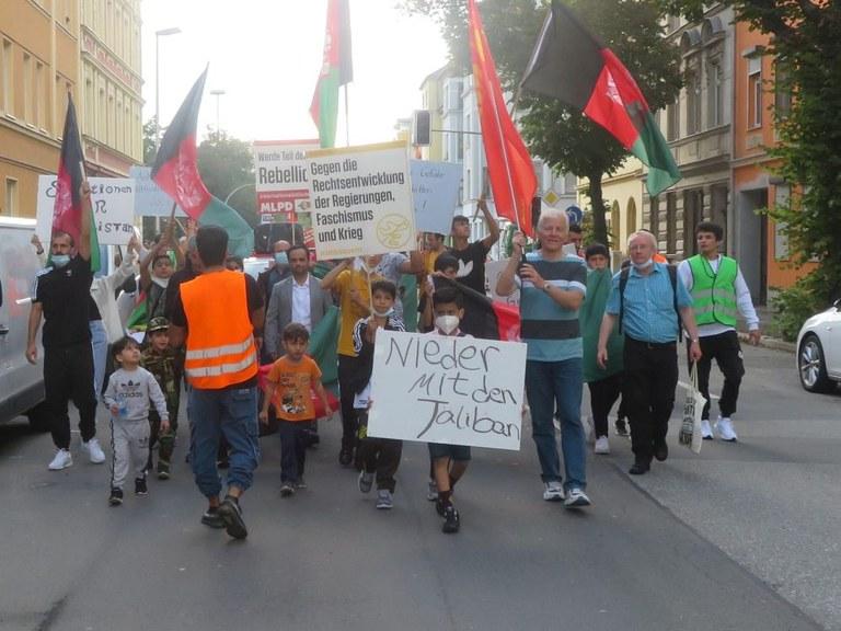 Der Antikriegs- und Weltfriedenstag in Gera – die größte Friedens-demonstration am Ort seit Jahren!