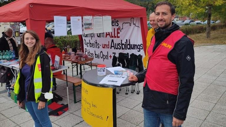 """""""Alle Belegschaften zusammen! - Weg mit dem Horrorkatalog von Opel!"""""""