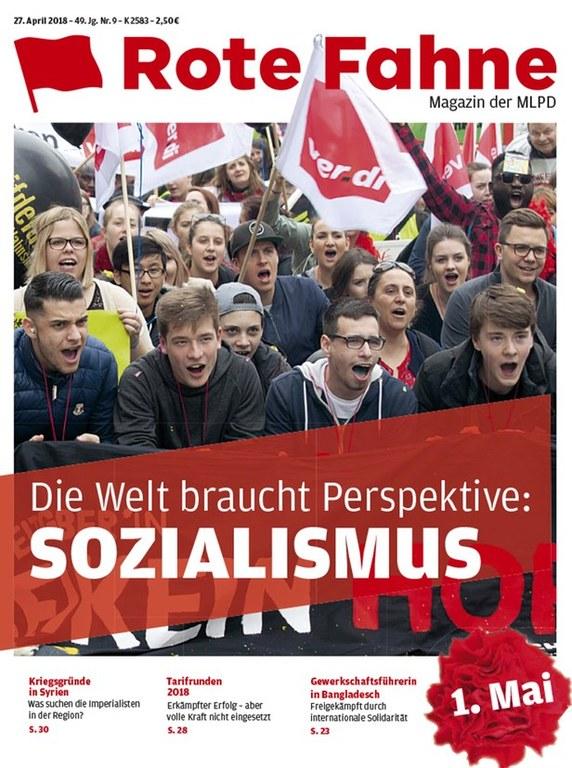 Rote Fahne Magazin 09/2018