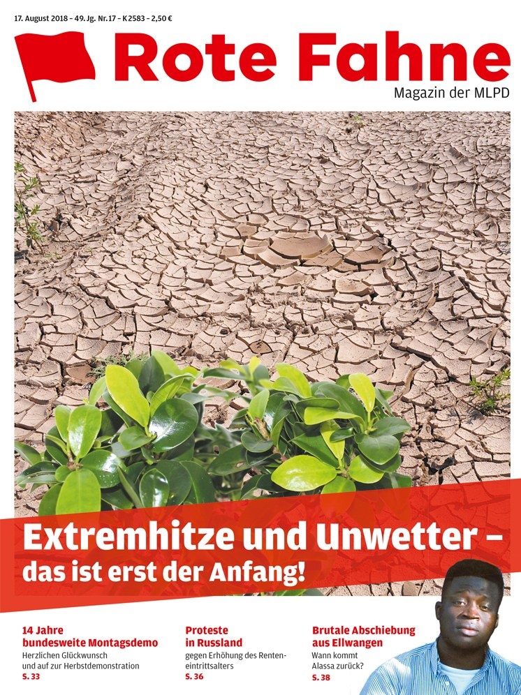 Rote Fahne Magazin 17/2018