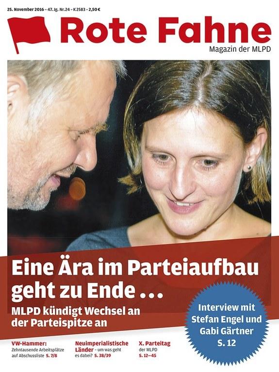 Rote Fahne Magazin 24/2016