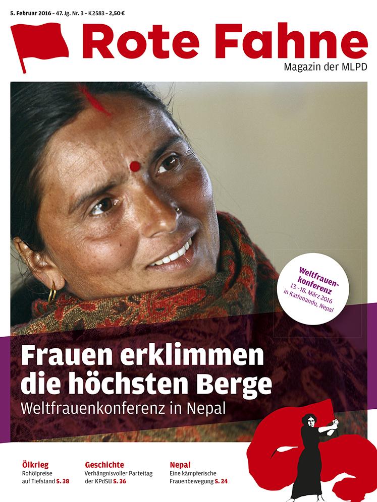 Rote Fahne Magazin 03/2016