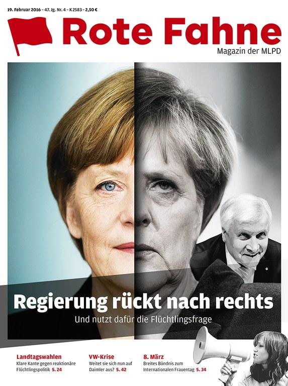 Rote Fahne Magazin 04/2016