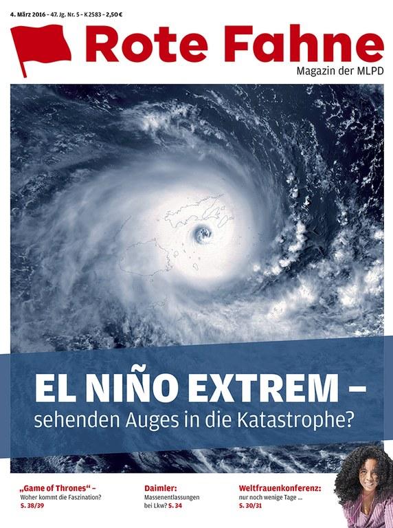 Rote Fahne Magazin 05/2016