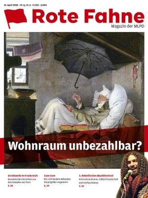 Rote Fahne Magazin 08/2018