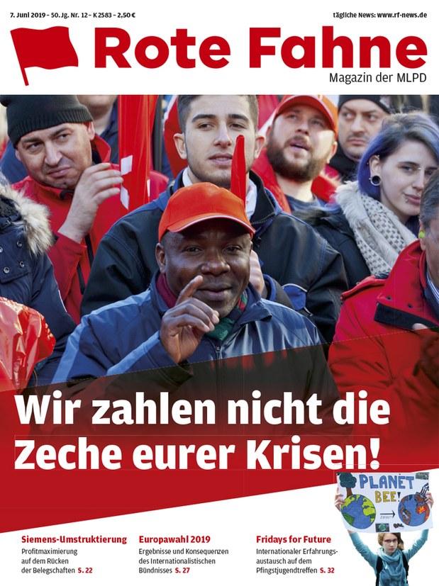 Rote Fahne Magazin 12/2019
