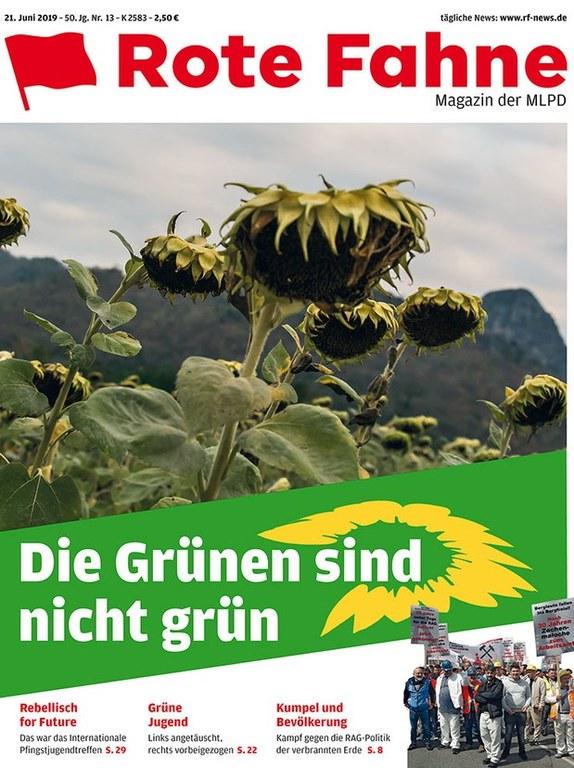 Rote Fahne Magazin 20/2019