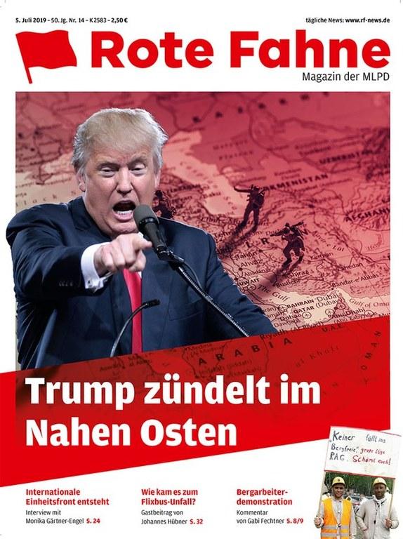 Rote Fahne Magazin 14/2019