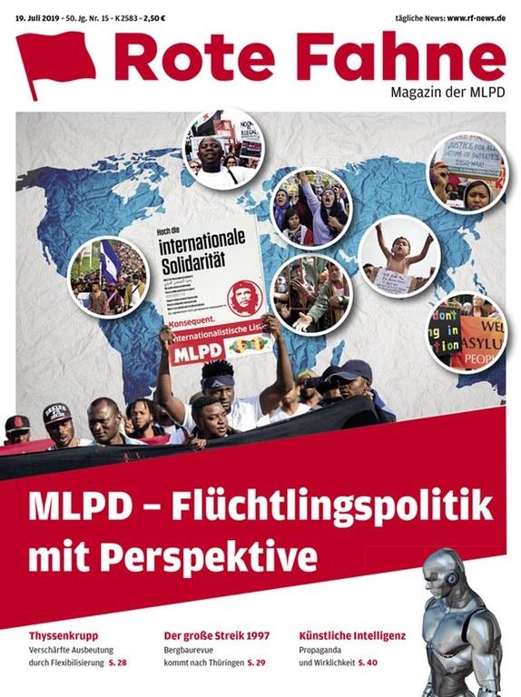 Rote Fahne Magazin 15/2019