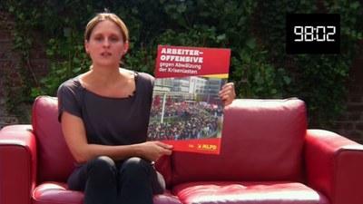 Arbeiteroffensive gegen Abwälzung der Krisenlasten