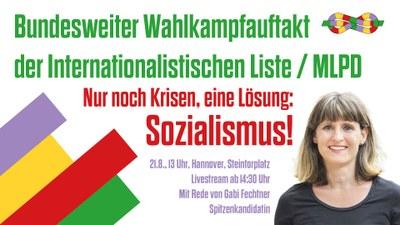 Bundesweite Auftaktkundgebung zur Bundestagswahl