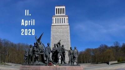 Gedenkfeier zum 75. Jahrestag der Selbstbefreiung der Häftlinge des KZ Buchenwald