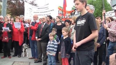 Gedenkveranstaltung Befreiung vom Hiltlerfaschismus und Ehrung von Willi Dickhut