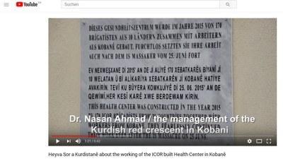 ICOR-Gesundheitszentrum in Kobanê