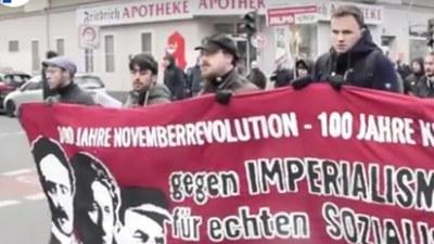 Rede von Gabi Fechtner auf der Lenin-Liebknecht-Luxemburg-Demonstration 2018