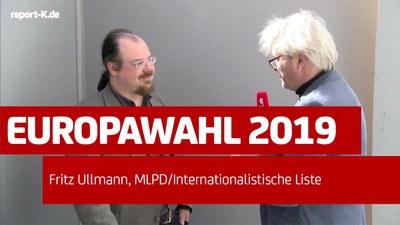 Interview mit Fritz Ullmann zur Europawahl