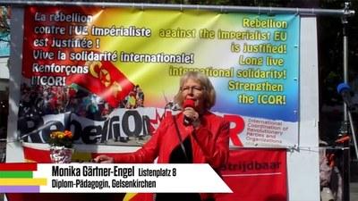 Rede von Monika Gärtner-Engel bei der Auftaktkundgebung zum Wahlkampf
