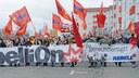 Revolutionärer Block auf der Lenin Liebknecht Luxemburg Demonstration 2017