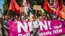 Spannender Bericht über die bunte, kämpferische Demonstration  am 7. Juli